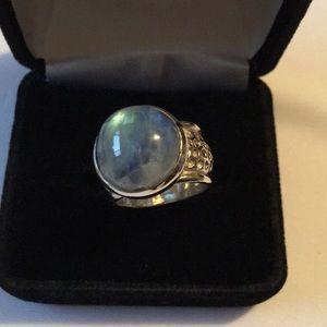 Peyote Bird Sterling Silver Gemstone Ring
